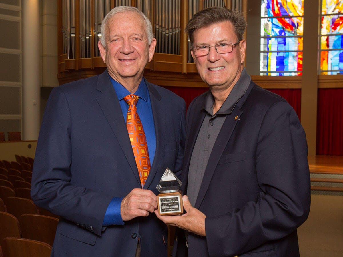 sugar-land-mayor-joe-zimmerman-2017-recipient-of-HBU-distinguished-alumnus-award