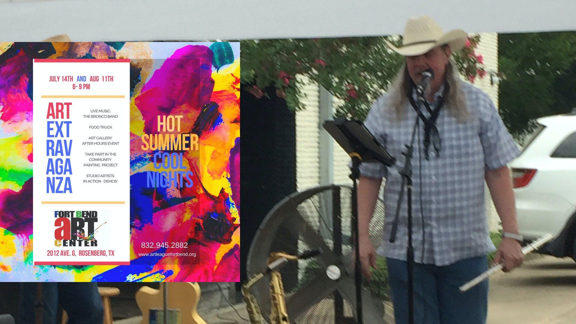Hot Summer Cool Nights Art Extravaganza Myfortbend