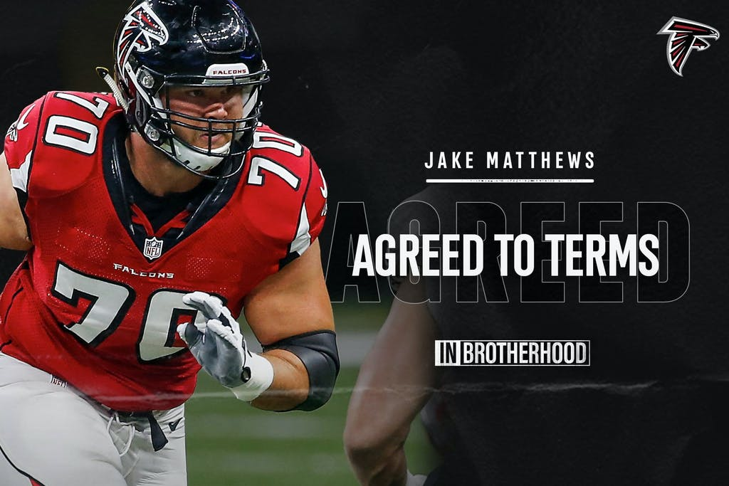Jake-Matthews-Missouri-City-Texas-Signs-Extension-With-Atlanta-Falcons
