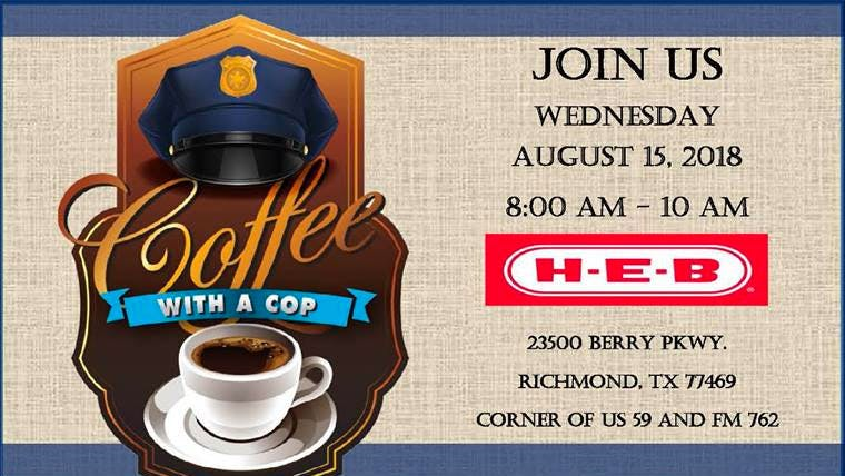 Coffee-With-A-Cop-With-Richmond-TX-Police-Department