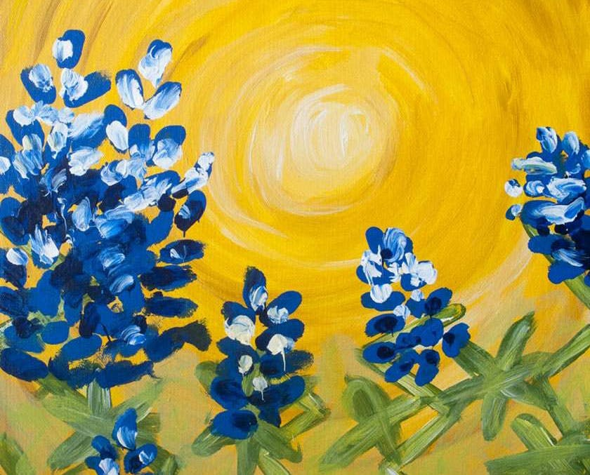 Texas-Bluebonnets-painting-katy-texas