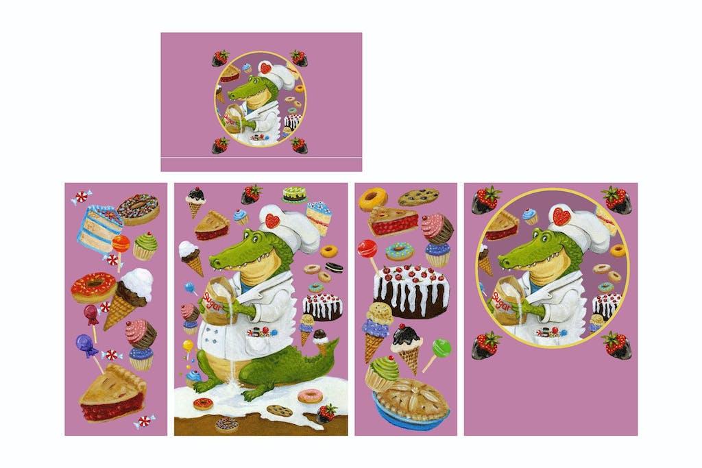 Anita-Nelson-Sugar-Gator-traffic-box