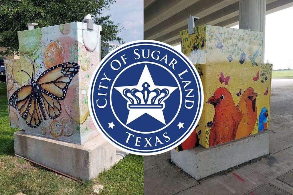 sugar-land-texas-Traffic-Box-Public-Art-Project