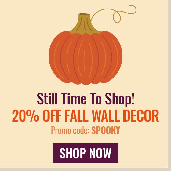 US Wall Decor Halloween Fall Sale