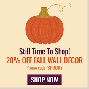 US Wall Decor Halloween Fall Sale