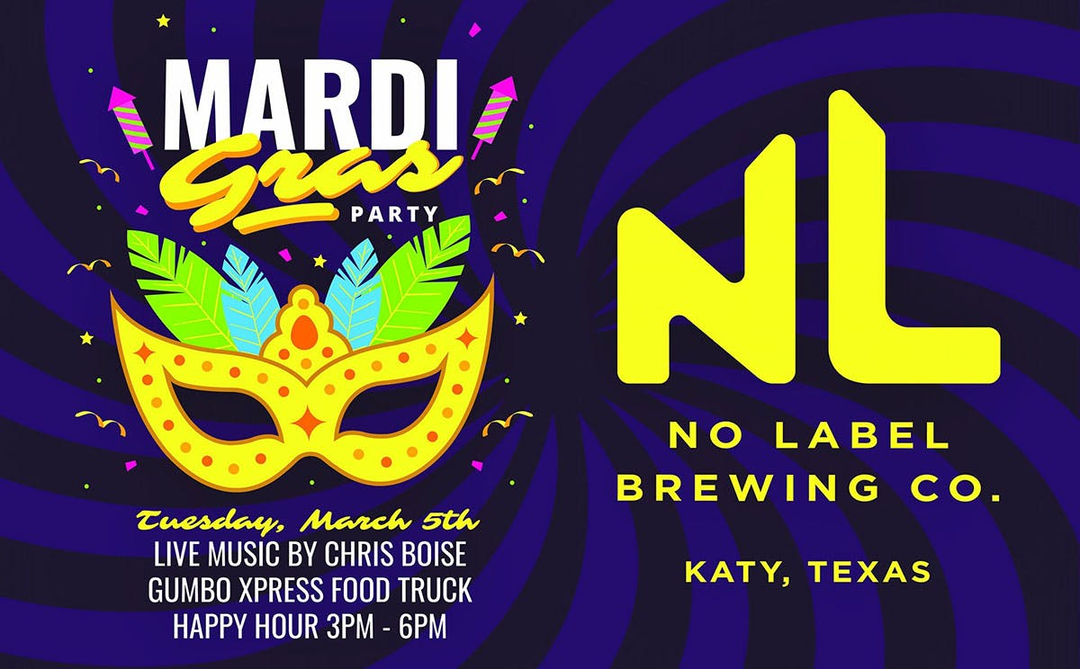 celebrate-mardi-gras-no-label-beer-texas-2019