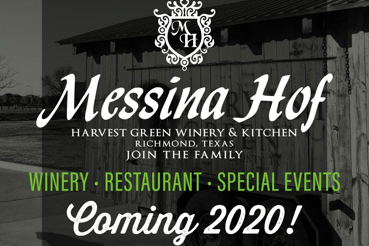 messina-hof-harvest-green-winery-kitchen-richmond-texas-coming-2020